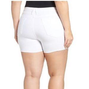 Good American🔴destroyed cutoff Denim Shorts